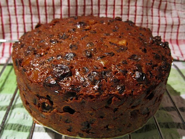 Inch Round Rich Fruit Cake