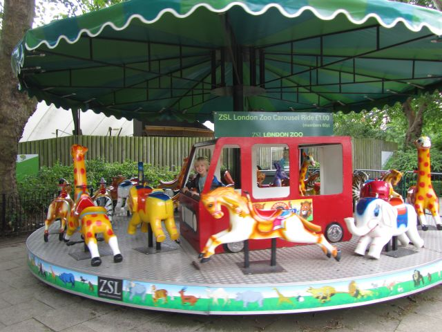 London Zoo Merry Go Round
