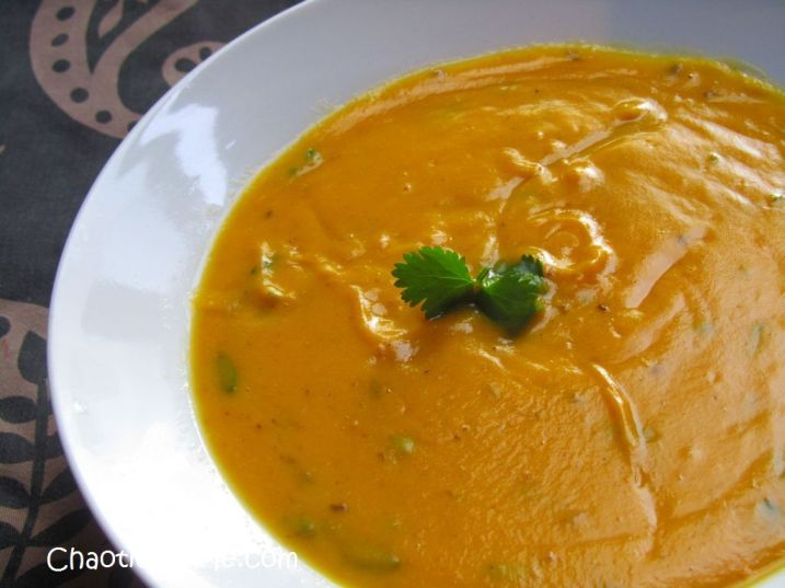 Carrot and Coriander Soup