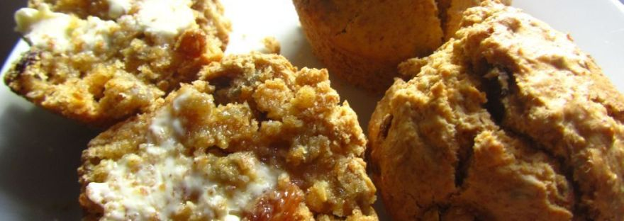 Grab and Go Breakfast Muffins Sultanas Sunflower Seeds
