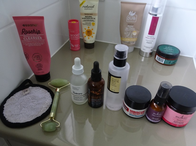 everything I use on my face