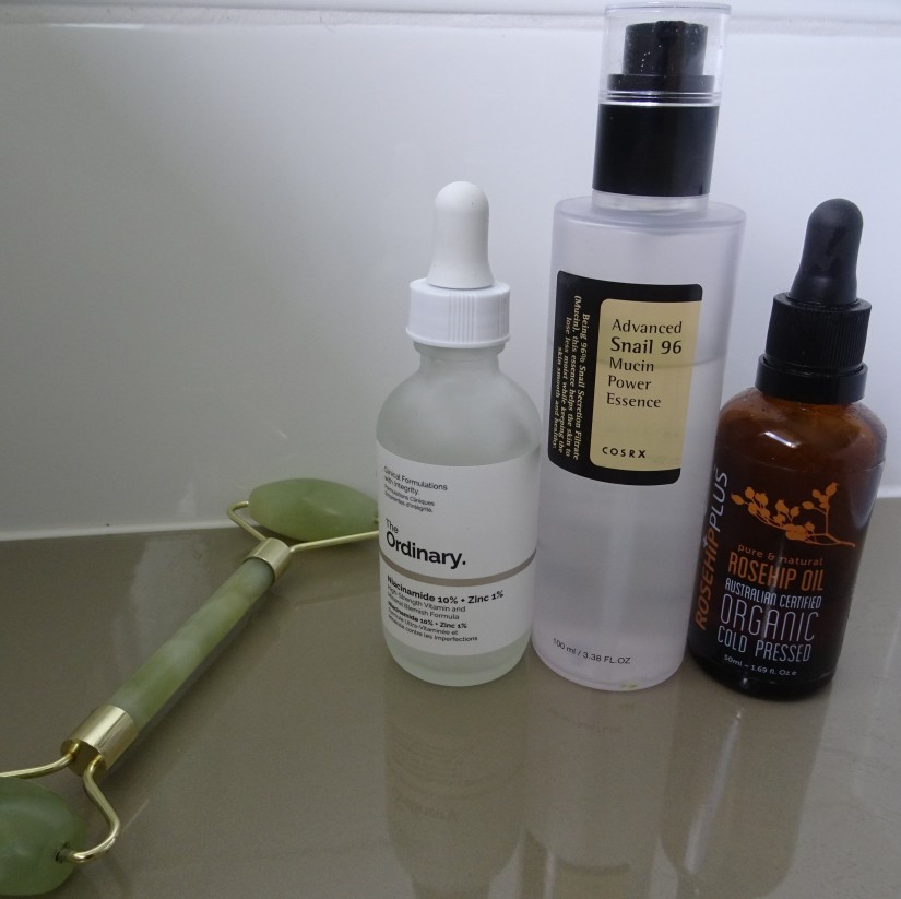 serums and oil